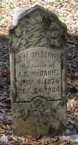 J H McDaniel