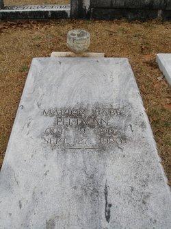 Marion <I>Babb</I> Pittman