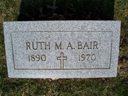 Ruth Marie <I>Adams</I> Bair