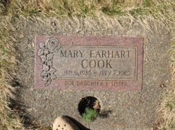 Mary <I>Earhart</I> Cook