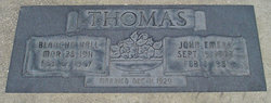 Blanche <I>Hall</I> Thomas