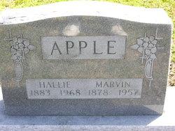 Maggie Hallie <I>Burton</I> Apple