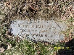 John B Callan
