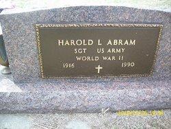 """Harold Lester """"Abe"""" Abram"""