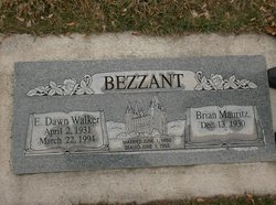 Ellen Dawn <I>Walker</I> Bezzant