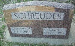 """Gertrude B """"Gertie"""" <I>Wichers</I> Schreuder"""