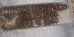 Elizabeth J <I>Gorday</I> Wilson