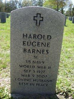 Harold Eugene Barnes