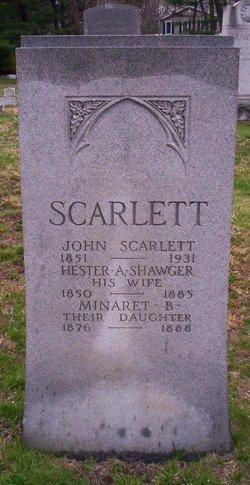 Hester A. <I>Shawger</I> Scarlett