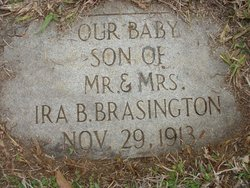Infant Son Brasington