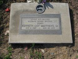 """Kenneth Coy """"Papa"""" Matthews, Sr"""