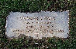 Thomas J. Cole
