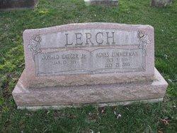 Agnes <I>Zimmerman</I> Lerch