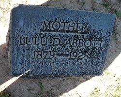 Lulu D <I>Laferty</I> Abbott