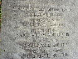 Hannah <I>Motte</I> Moultrie