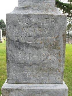 Mary <I>Arnold</I> Everett