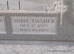 Anna Dasher <I>Hinton</I> Bell