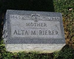 Alta Mary <I>Miller</I> Rieber