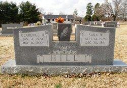 Sara <I>Williams</I> Hill