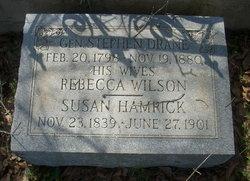 Rebecca <I>Wilson</I> Drane