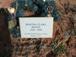 Martha Clara <I>Caudle</I> Booth