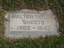 Walter Taylor Sheets