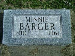 Minnie Magdalene <I>Conn</I> Barger