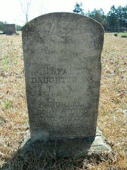 Infant Daughter Burris