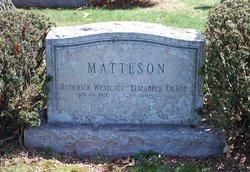 Elizabeth <I>De Voe</I> Matteson