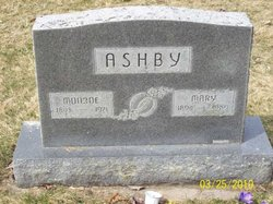 Mary Florence <I>DeMoss</I> Ashby