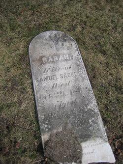 Sarah <I>Talmage</I> Sackett