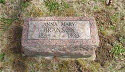 Anna Mary <I>Clark</I> Branson