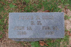 "Julia Dora ""Julie"" Bice"