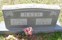 Annie Lea <I>Hubbard</I> Nash