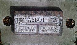 Ethel Bell <I>Haddock</I> Abbott