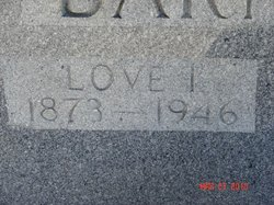 Martha Love <I>Thurmond</I> Barnett
