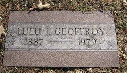 Lulu Irene <I>Hooper</I> Geoffroy