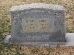 Kizzie Mary <I>Ladd</I> Akins
