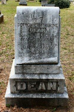 Sofronie Catherine <I>Sawyer</I> Dean