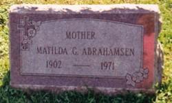 Matilda G. <I>Armstrong</I> Abrahamsen