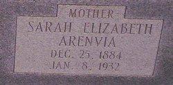 Sarah Elizabeth <I>Arenvia</I> Clark