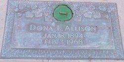 Dona <I>Lowe</I> Allison