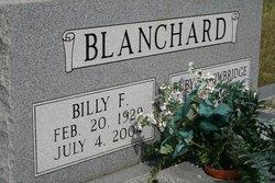 Billy F Blanchard