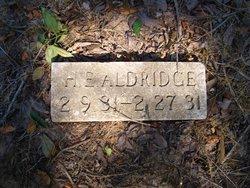 H E Aldridge