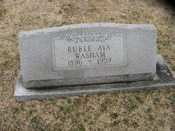 Ruble Ava Washam