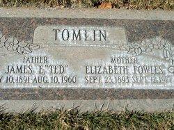Martha Elizabeth <I>Fowles</I> Tomlin