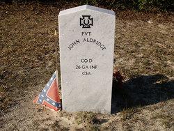 PVT John Aldridge