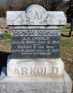 Sarah Elen <I>McFall</I> Arnold