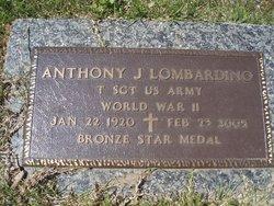 Sgt Anthony John Lombardino