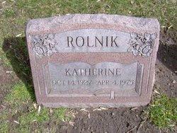 Katherine Rolnik